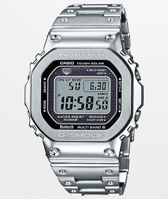 G-Shock GMWB5000 Silver Watch