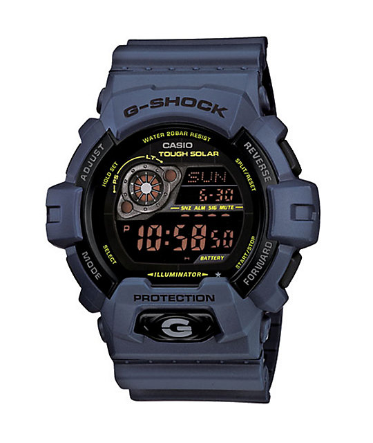 G-Shock GR8900NV-2 Military Navy & Black Watch