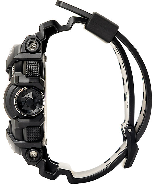 G-Shock Garish GA-400GB-1A Black & Silver Watch