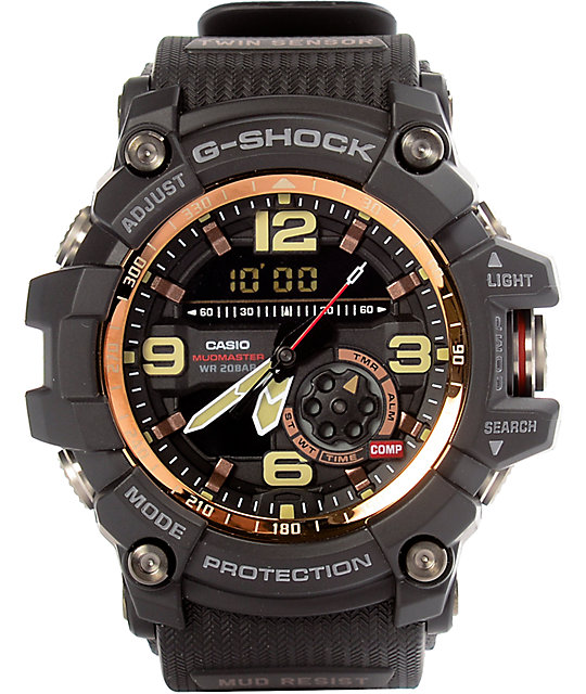 G-Shock Mudmaster Black & Rose Watch