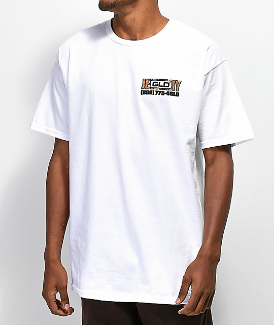 GLD Buy Now White T-Shirt