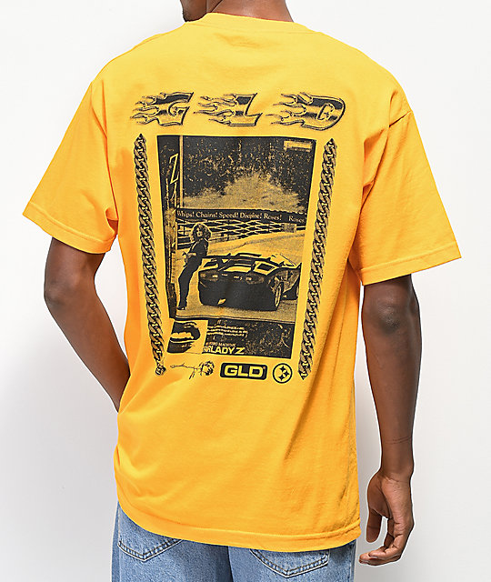 GLD Whips Chains Speed camiseta dorada