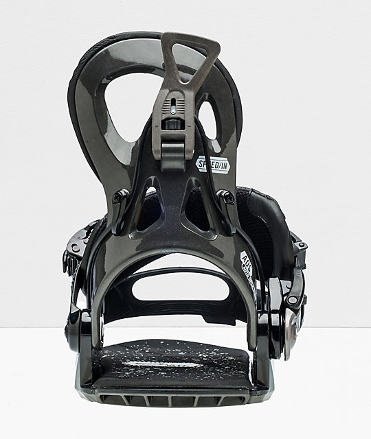 GNU Cheeter Black Snowboard Bindings 2020