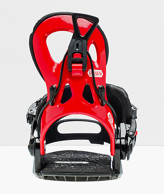 GNU Cheeter Red Snowboard Bindings 2020