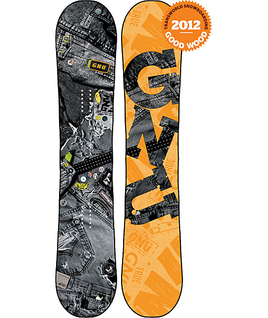 GNU Riders Choice C2 BTX 162cm Wide Mens Snowboard