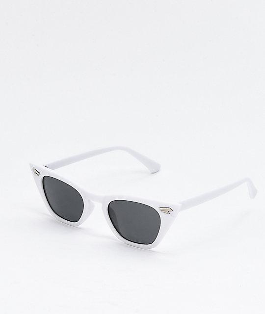 e45a60ebbe05d Georgetown gafas de sol blancas de ojo de gato ...