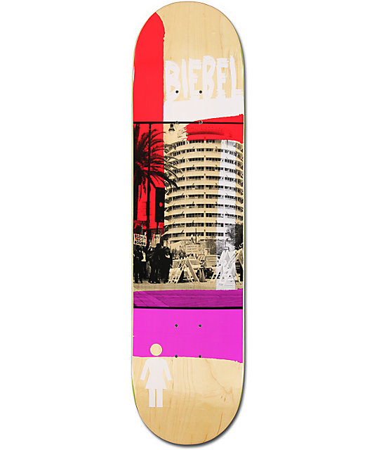 "Girl Beibel Darkroom 7.87""  Skateboard Deck"