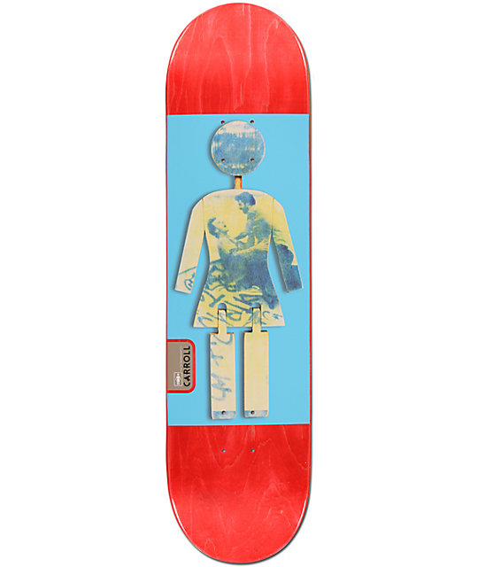 "Girl Carroll On Exhibit 8.125""  Skateboard Deck"