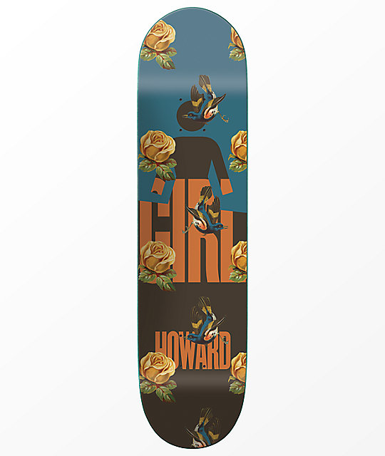 "Girl Howard Sanctuary 8.5"" Skateboard Deck"