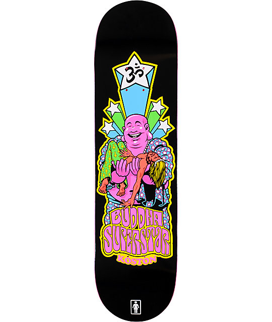 "Girl Koston Blacklight 8.25""  Skateboard Deck"