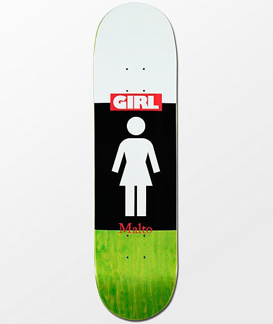 Girl malto blocked og 812 skateboard deck zumiez girl malto blocked og 812 skateboard voltagebd Image collections