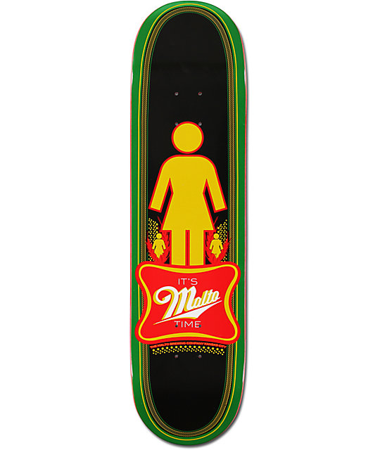 "Girl Malto Time 8.125""  Skateboard Deck"