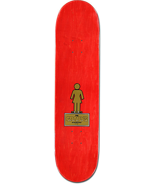 "Girl Malto Trophies 8.0""  Skateboard Deck"