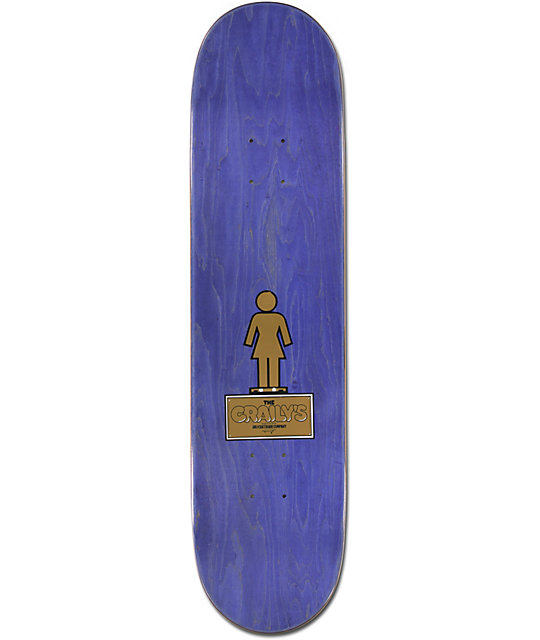 "Girl Mariano Craily 8.0""  Skateboard Deck"