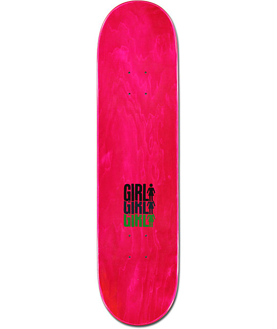"Girl Mariano Triple 8.12""  Skateboard Deck"