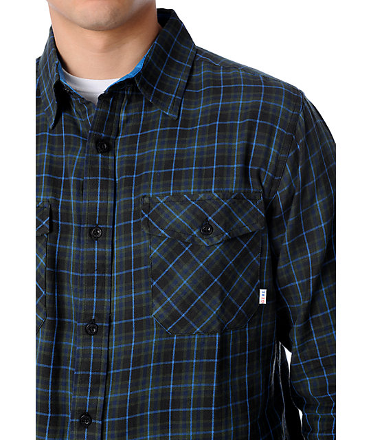 Girl McCoy Black Flannel Shirt