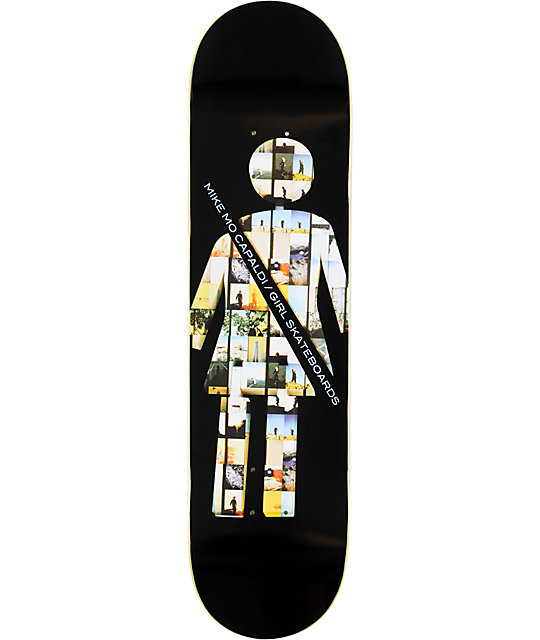 "Girl MikeMo Art Dump 8.0""  Skateboard Deck"
