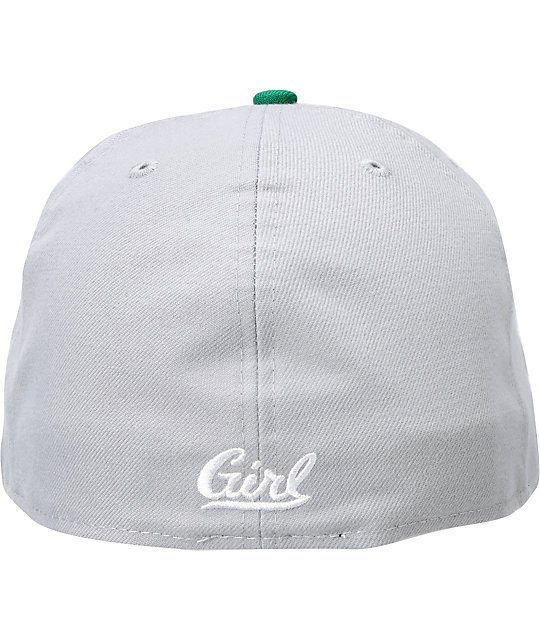 Girl OG Girl Grey & Green New Era Fitted Hat
