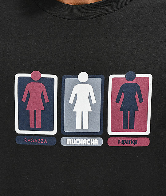 Girl Triple OG camiseta negra