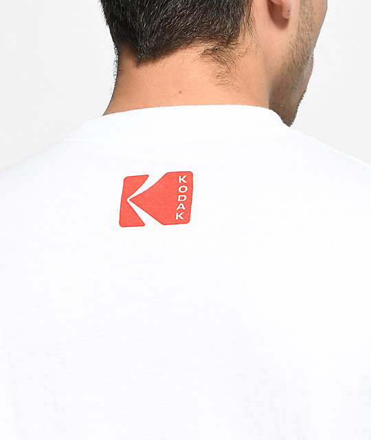 Girl X Kodak Heritage White Long Sleeve T-Shirt