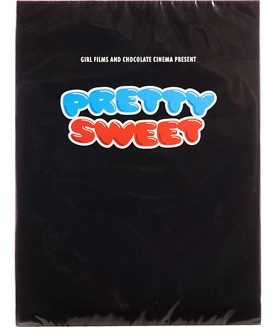 Girl x Chocolate Pretty Sweet DVD & Blu Ray