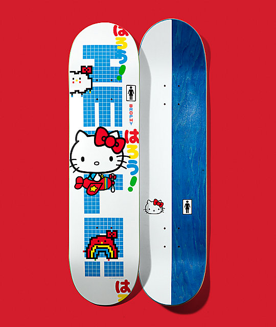 Girl x Hello Kitty 45th Anniversary Brophy 8.0