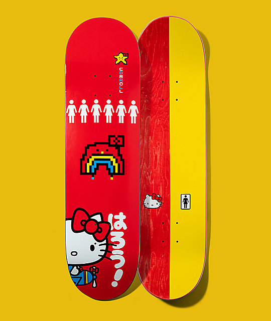 Girl x Hello Kitty 45th Anniversary Carroll 8.25