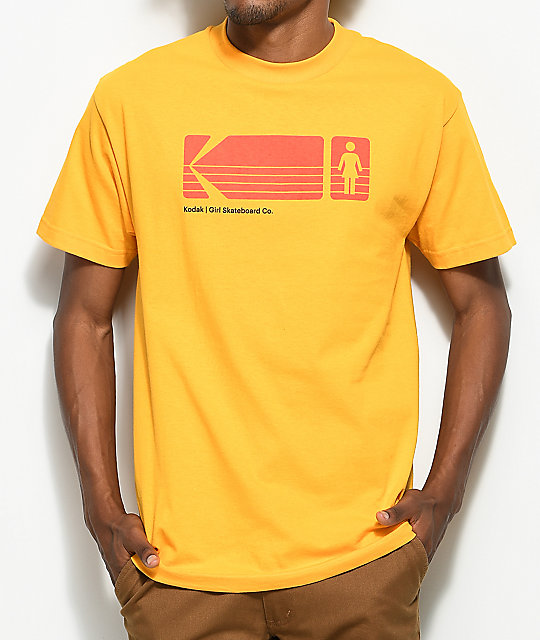 Girl x Kodak Heritage Yellow T-Shirt