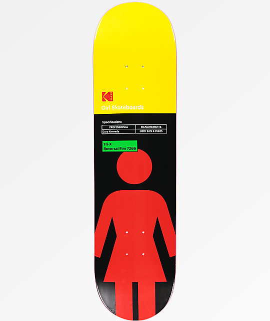 "Girl x Kodak Kennedy 8.25"" Skateboard Deck"