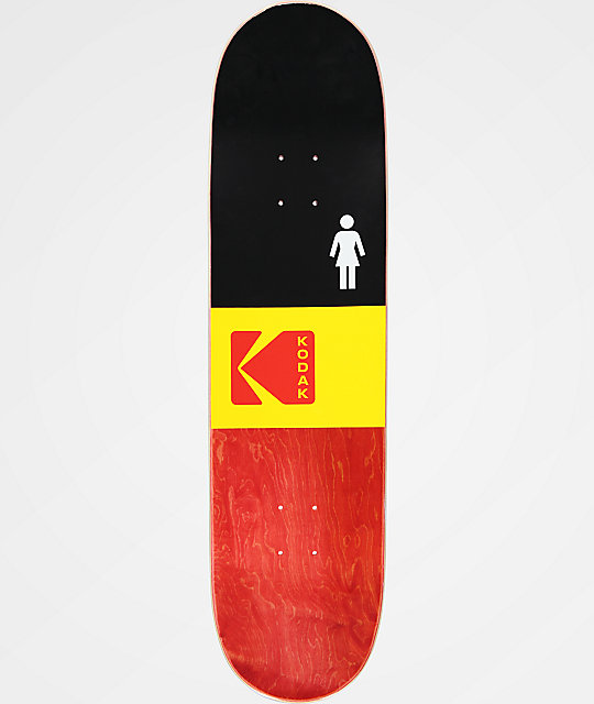 "Girl x Kodak McCrank 8.5"" Skateboard Deck"