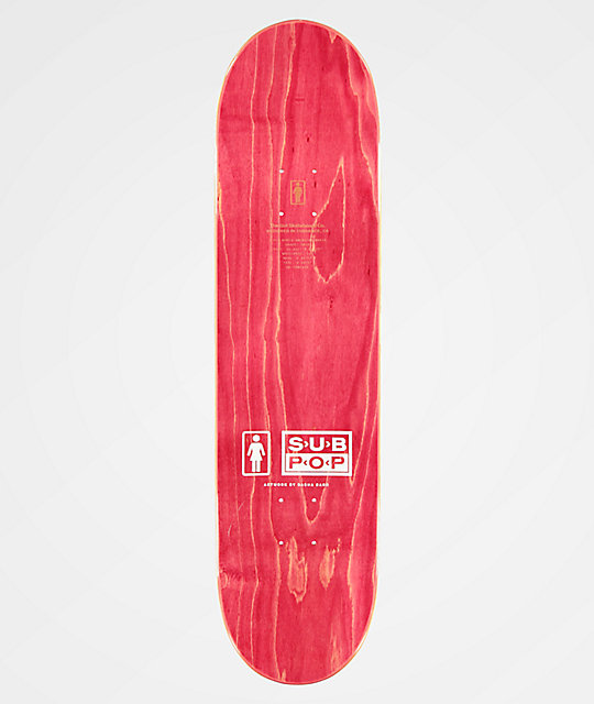 "Girl x Sub Pop Brophy 8.125"" Skateboard Deck"