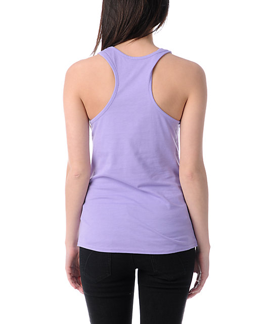 Glamour Kills Are Forever Light Purple Tank Top