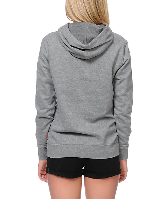 Glamour Kills Create Future Grey Pullover Hoodie