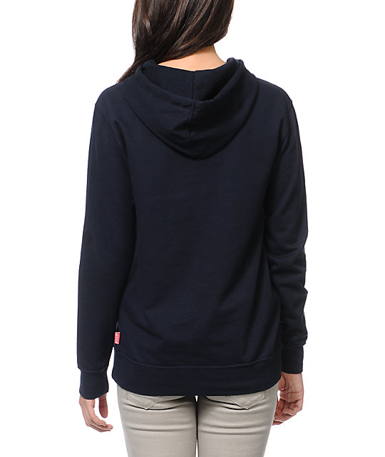 Glamour Kills Dream Love Fear Navy Pullover Hoodie