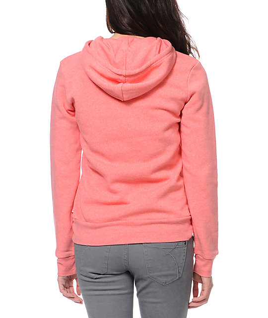 Glamour Kills Feel Good Lost Coral Pullover Hoodie