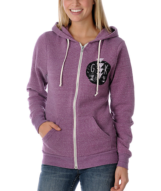 Glamour Kills Hunting To Feel Alive Full Zip Up Hoodie