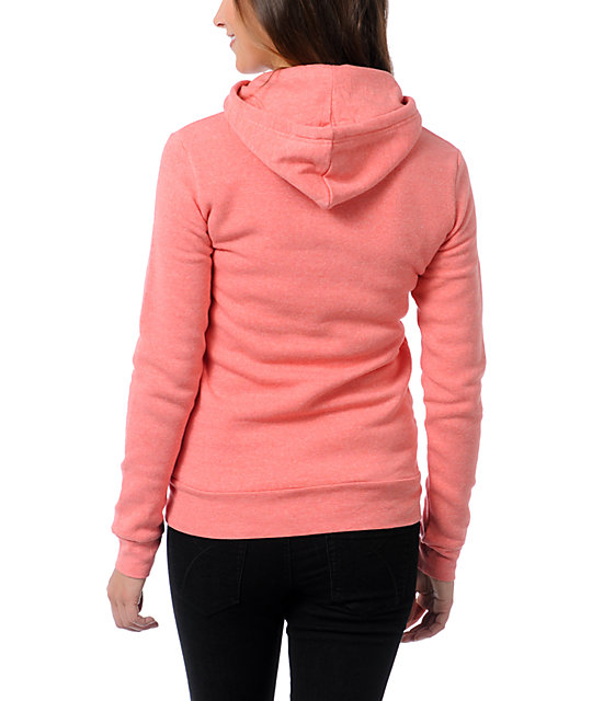 Glamour Kills Hunting To Feel Coral  Pullover Hoodie
