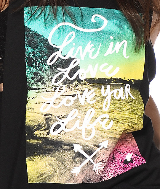 Glamour Kills Love Your Life Muscle Tank Top