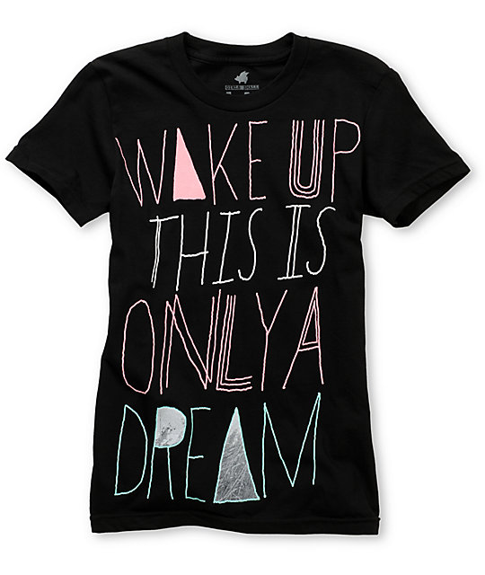 Glamour Kills Only A Dream Black T-Shirt