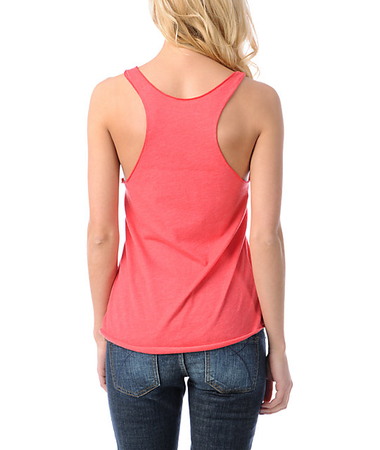 Glamour Kills Sweetest Fracture Red Tank Top