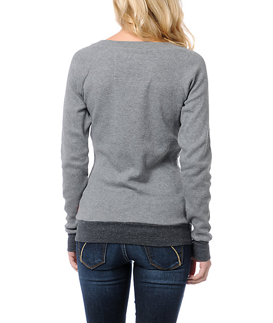 Glamour Kills Tried And True Grey Thermal Shirt