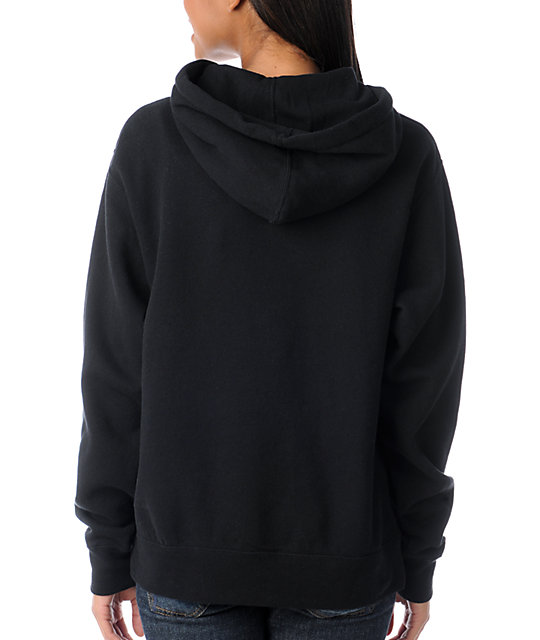 Glamour Kills Wild At Heart Black Pullover Hoodie