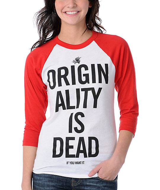 Glamour Kills Yon & Joko Red Baseball Tee