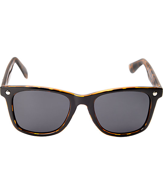 Glassy Mike Mo Black & Tortoise Polarized Sunglasses