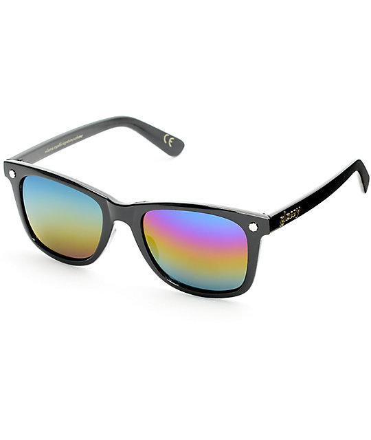7c962a495b Glassy Mikemo gafas de sol polarizadas en negro   Zumiez