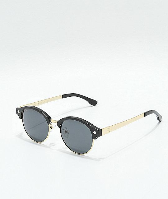 d8db13e950b Glassy Paul Black   Gold Polarized Sunglasses