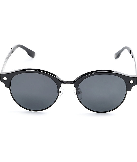 c45f4b5832d ... Glassy Sunhaters Paul Black   Black Sunglasses
