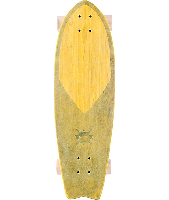 "Globe Clear Wheat Swallow Wedge 30""  Cruiser Skateboard"
