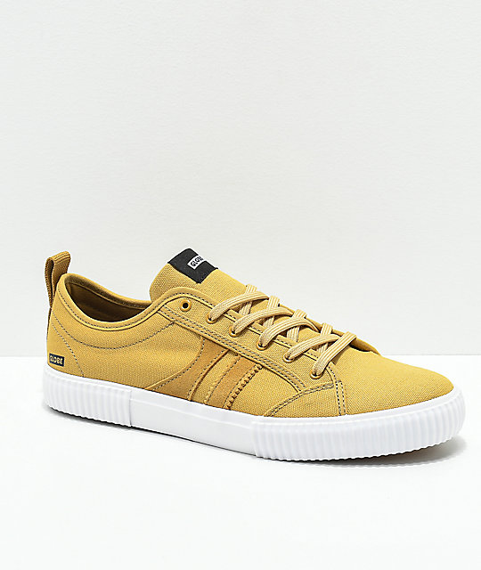 Globe Filmore Curry & White Skate Shoes