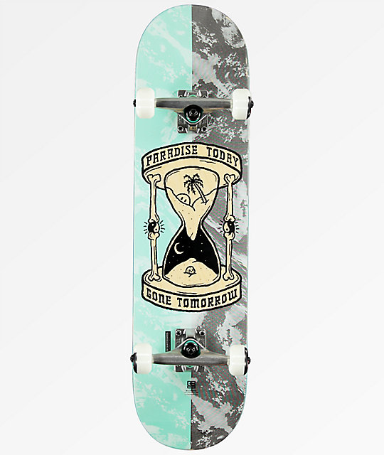 "Globe Gone Tomorrow 8.0"" Skateboard Complete"